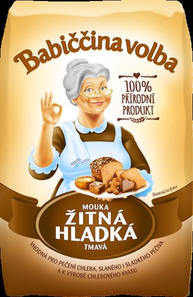Múka žitná chlebová - Babičkina voľba