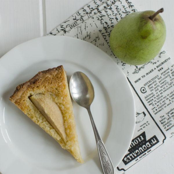 Hruškový koláč smandľami