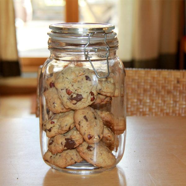 Kakaovo-orieškové sušienky