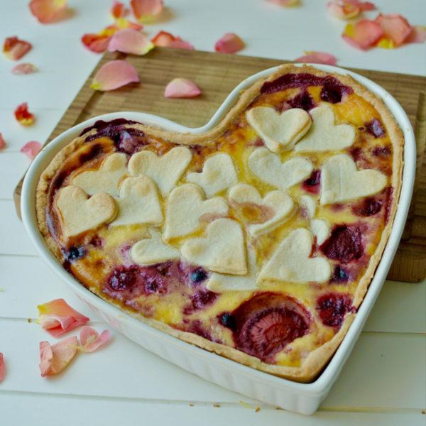 Valentínsky koláč