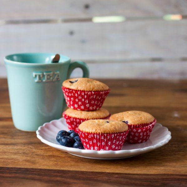 Vanilkové muffiny