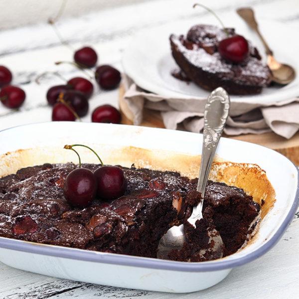 Višňová čoko torta
