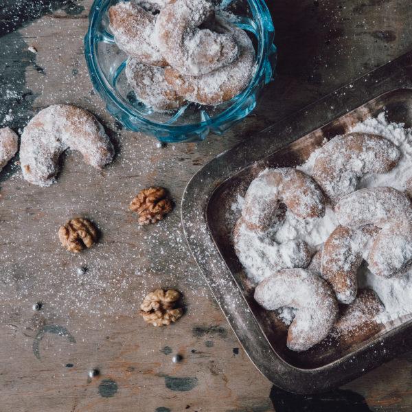 Špaldové vanilkové rožteky