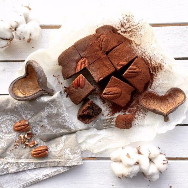 Brownies zcelozrnnej špaldovej múky