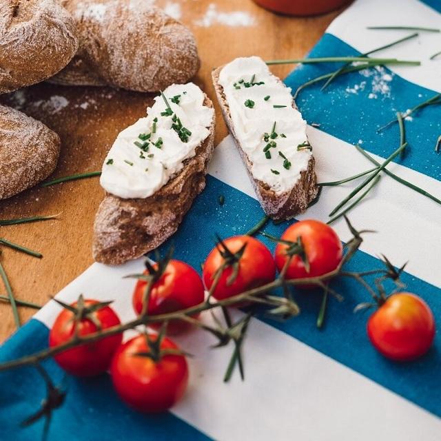 Rustikálne bagety so syrom
