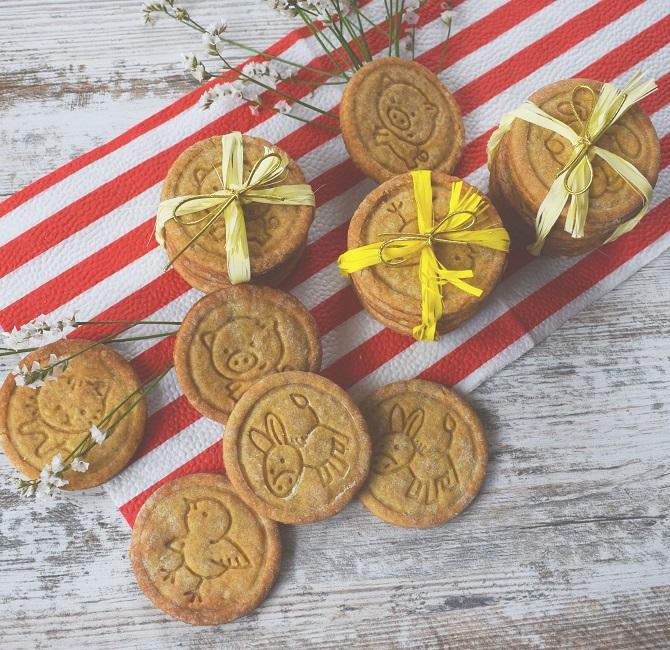 Špaldové maslové sušienky