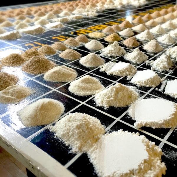 Druhy atypy pšeničných múk