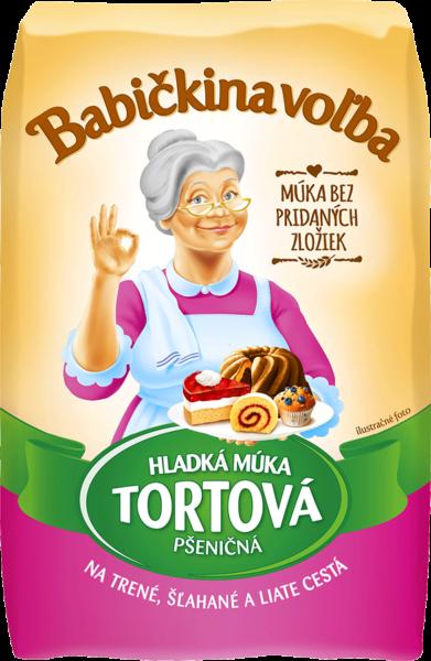 Hladká múka tortová pšeničná - Babičkina voľba