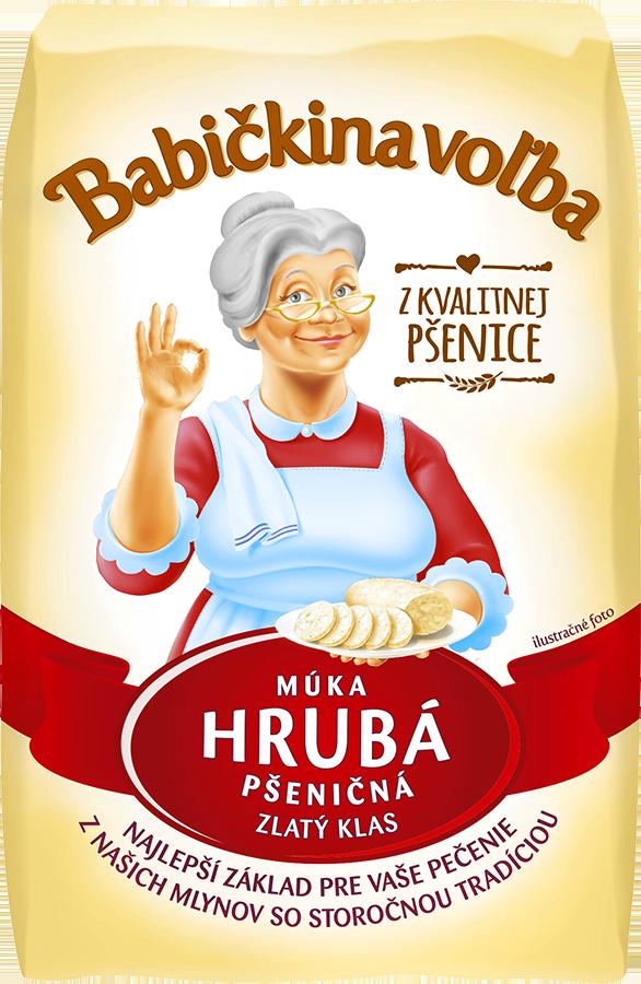 Múka hrubá pšeničná - Babičkina voľba