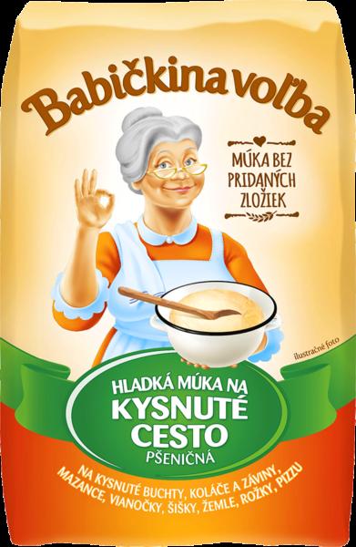 Hladká múka na kysnuté cesto pšeničná - Babičkina voľba