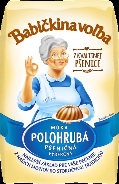 Múka polohrubá pšeničná - Babičkina voľba