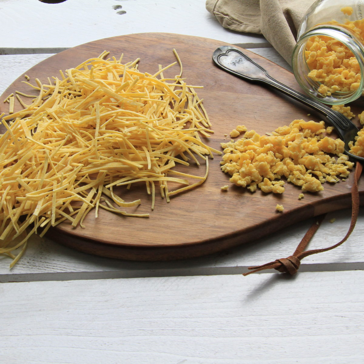 Domáce rezance amrvenica do polievky