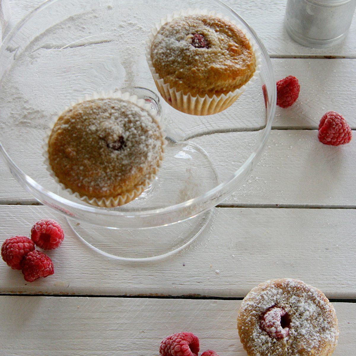 Ražné muffiny scmarom