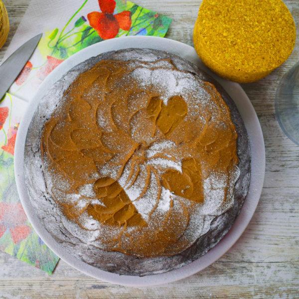 Špaldová torta zcvikly