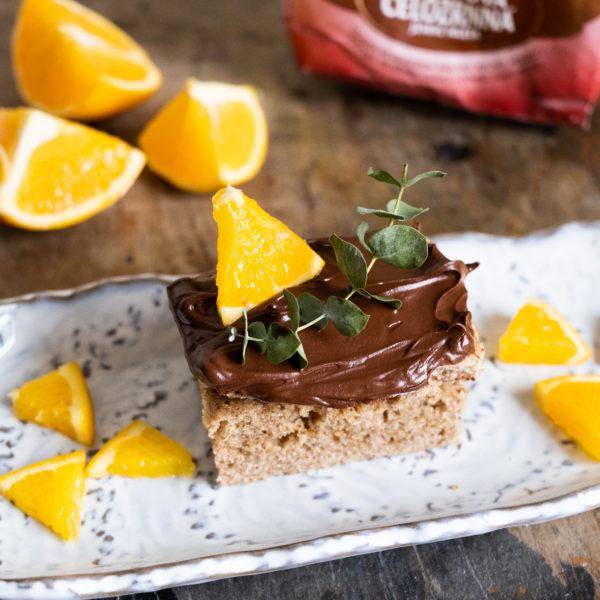 Pomarančovo-perníkový koláč