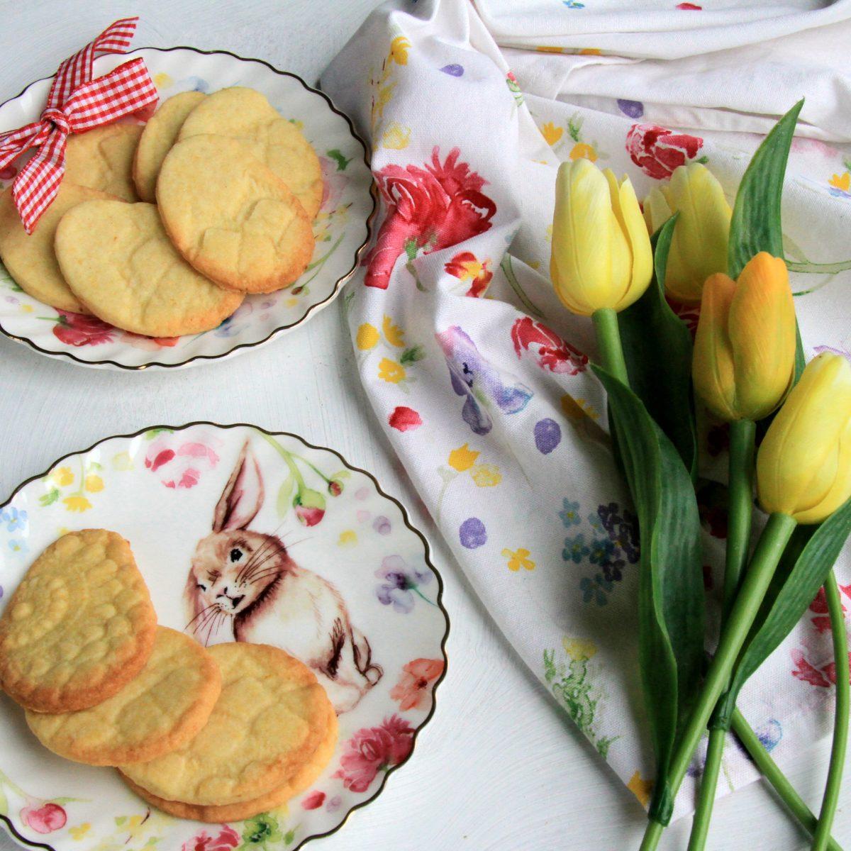 Veľkonočné sušienky so vzorom