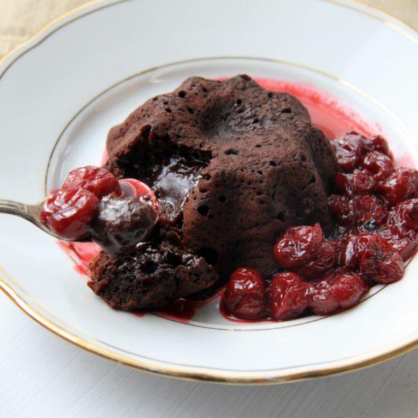 """Valentínsky dezert """"lava cake"""""""