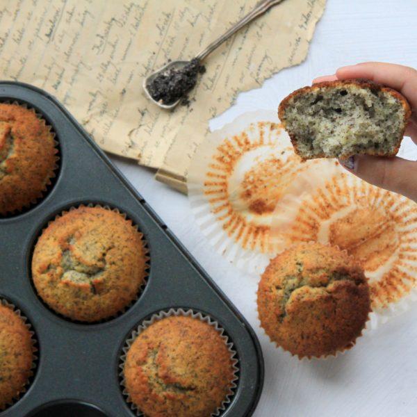 Makovo-citrónové muffiny