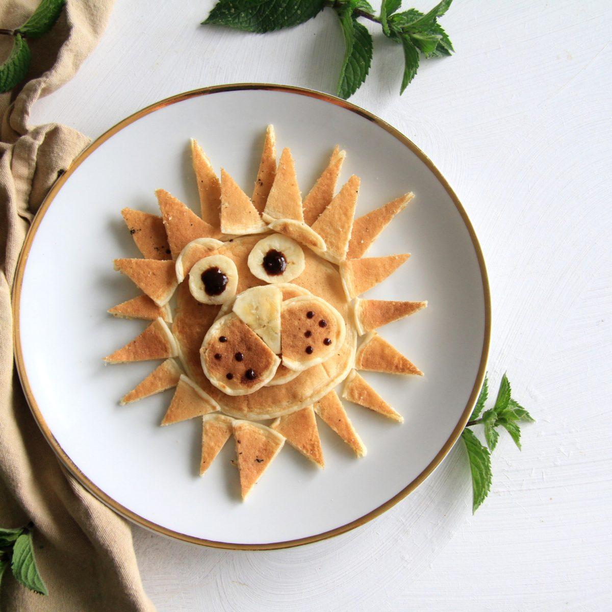 Pancake zoo – kefírové lievančeky