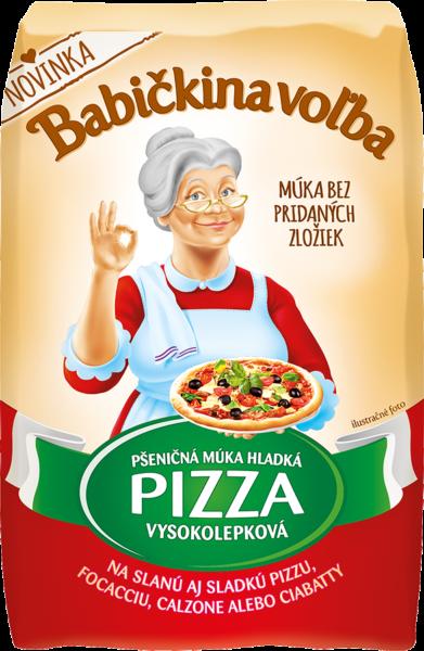 Pizza múka hladká pšeničná vysokolepková - Babičkina voľba